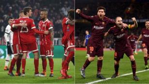 Champions League: resultados de la jornada de octavos de final