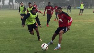 Alexi Gómez cumplió su primer entrenamiento con Atlas