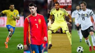 Son figuras y se perderán el Mundial: las estrellas que no jugarán en Rusia 2018 (FOTOS)