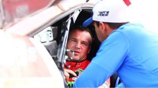 Dakar 2018: Nicolás Fuchs se queda parado en décima etapa por problemas mecánicos