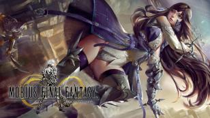 El nuevo personaje jugable, Meia, lanza un hechizo sobre Mobius Final Fantasy