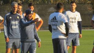 Argentina recién iniciará entrenamientos faltando 72 horas para el partido con Perú