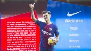 Phillipe Coutinho estará de baja en Barcelona y aplazará su debut