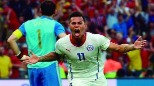 Chile y sus tres triunfos ante campeones de Europa