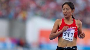 ¡Vamos Perú! Inés Melchor ganó medalla de oro en los Juegos Bolivarianos