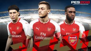 Konami confirma asociación con Arsenal