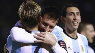 Con 3 goles de Messi, Argentina apabulló 3-1 a Ecuador y clasificó a Rusia 2018