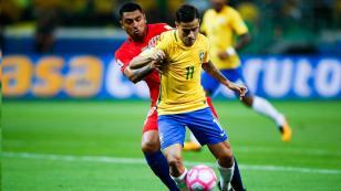Chile cayó 3-0 ante Brasil y le dijo adiós a Rusia 2018