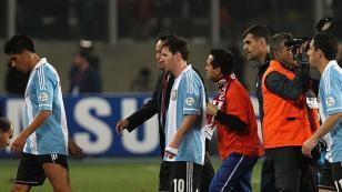 La racha negativa de Lionel Messi ante Perú