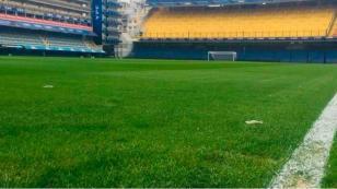 Perú vs. Argentina: así luce el campo de la 'Bombonera' a horas del partido