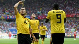 Bélgica derrotó 5-2 a Túnez por la segunda fecha del grupo G de Rusia 2018