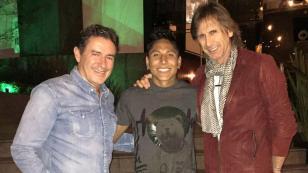 Ruidíaz se reunió con Ricardo Gareca