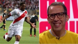 La opinión de Daniel Peredo sobre Farfán que se volvió viral tras clasificar a Rusia 2018