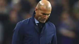 """Zinedine Zidane: """"Jugamos contra un equipo que fue mejor que nosotros"""""""