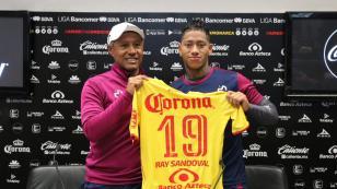 Ray Sandoval fue presentado oficialmente como jugador de Monarcas Morelia