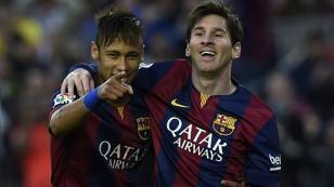 Lionel Messi y su emotiva despedida de Neymar