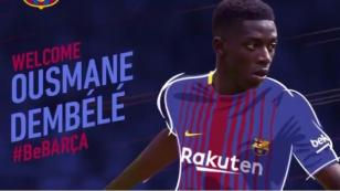 OFICIAL: Ousmane Dembélé es nuevo jugador del Barcelona