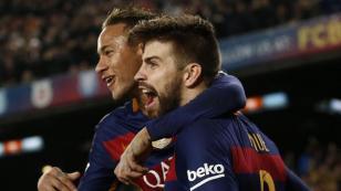 El emotivo adiós de Piqué a Neymar