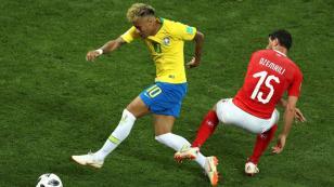 Brasil empata 1-1 con Suiza en su debut en Rusia 2018