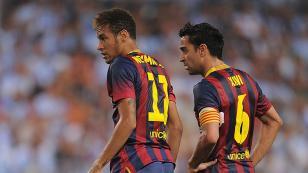 """Xavi Hernández: """"Neymar se fue del Barcelona porque no era feliz"""""""