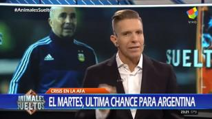 (VIDEO) Prensa argentina destruye a Jorge Sampaoli