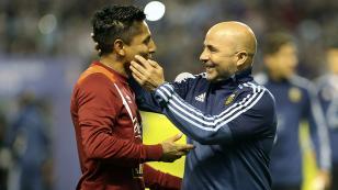 Jorge Sampaoli felicitó a la selección peruana por clasificación a Rusia 2018