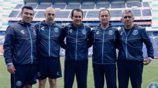 Juan Reynoso fue presentado en el comando técnico del Puebla FC