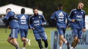 El primer once que probó Jorge Sampaoli en los entrenamientos de Argentina