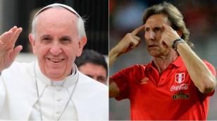 Ricardo Gareca tendrá una reunión con el Papa Francisco