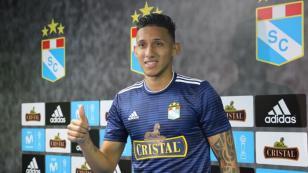 Christofer Gonzales presentado en Sporting Cristal: