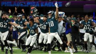 Los Eagles frenan el reinado de los Patriots de Brady