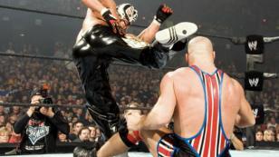 Rey Misterio vs. Kurt Angle vs. Randy Orton