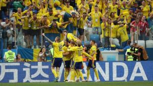 Suecia venció 1 a 0 a Corea del Sur en la primera fecha del grupo F