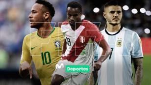 Fecha FIFA: programación y resultados de partidos amistosos