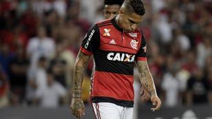 La tristeza de Paolo Guerrero ante la caída de Flamengo