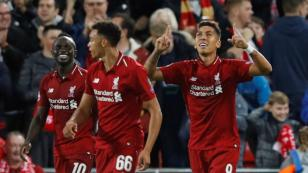 Roberto Firmino le da triunfo al Liverpool en partidazo ante el PSG