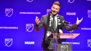 David Beckham cumple