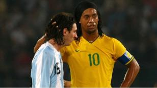 Lionel Messi y su emotivo mensaje de agradecimiento a Ronaldinho
