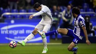 Real Madrid goleó 6 -2 al Deportivo La Coruña y empata la punta con un partido menos