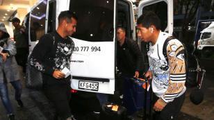 Selección Peruana: Miguel Trauco, Sergio Peña y Edison Flores llegaron a Nueva Zelanda