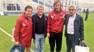 Perú vs. Argentina: el reconocimiento de Vélez Sarsfield con Ricardo Gareca