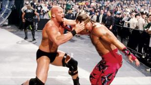 Steve Austin vs. Shawn Michaels