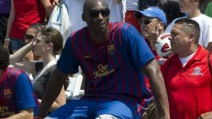 Kobe Bryant es fan del Barcelona