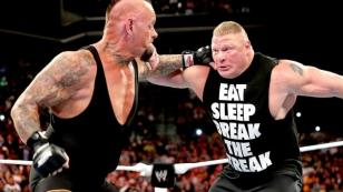 BROCK LESNAR VS THE UNDERTAKER