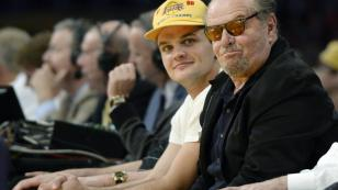 Jack Nicholson con Los Angeles Lakers