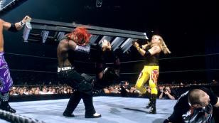 Edge/Christian vs. Hardy Boyz vs. Dudley Boyz
